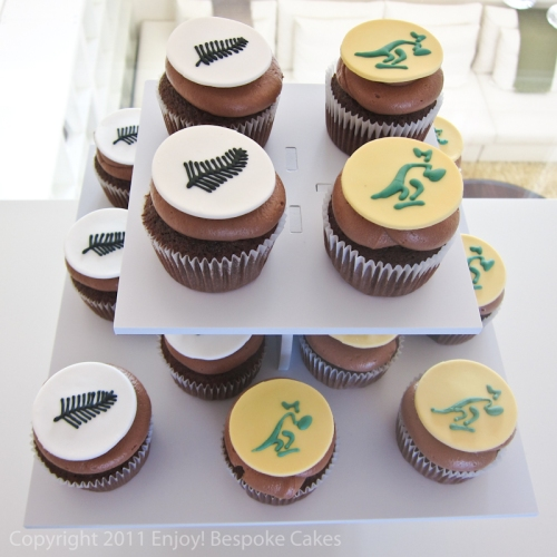 Birthday Cake Ideas Nz : Rugby Cupcakes enjoybespokeevents