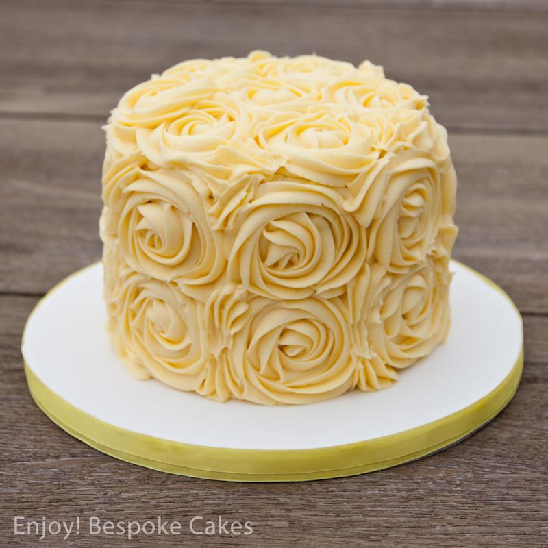Yellow Rose Cake | enjoybespokeevents