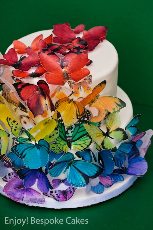 butterfly cake enjoybespokeevents